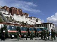 Soldati a Lhasa