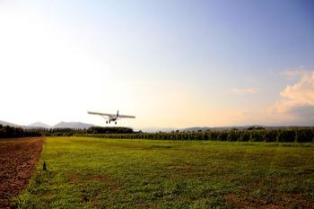 Il decollo foto Peppe Del Rossi